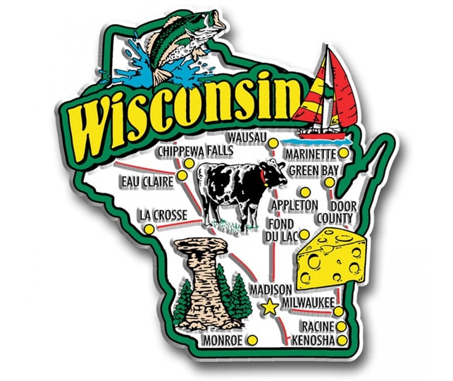 Picture demonstrating Wisconsin